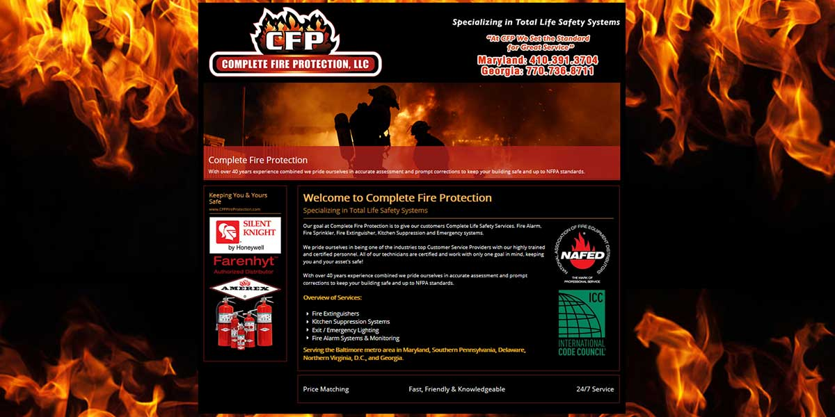 CFPFireProtection.com
