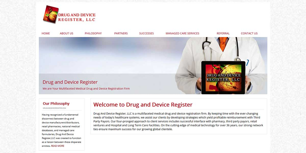 DrugandDeviceRegister.com